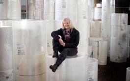 Angela Broscheit, Mitarbeiterin Logistik