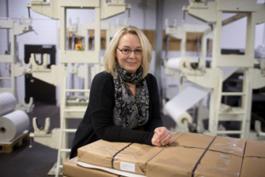Kirsten Moser, Mitarbeiterin Auftragsabwicklung