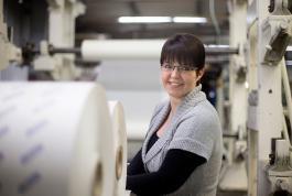 Simone Luscher, Mitarbeiterin Vertrieb